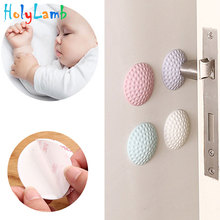4Pcs/Lot Protection Baby Safety Shock Absorbers Security Card Door Stopper Baby Newborn Care Child Lock Protection From Children 15pcs gray aircraft shock absorbers damper door furniture protection safety