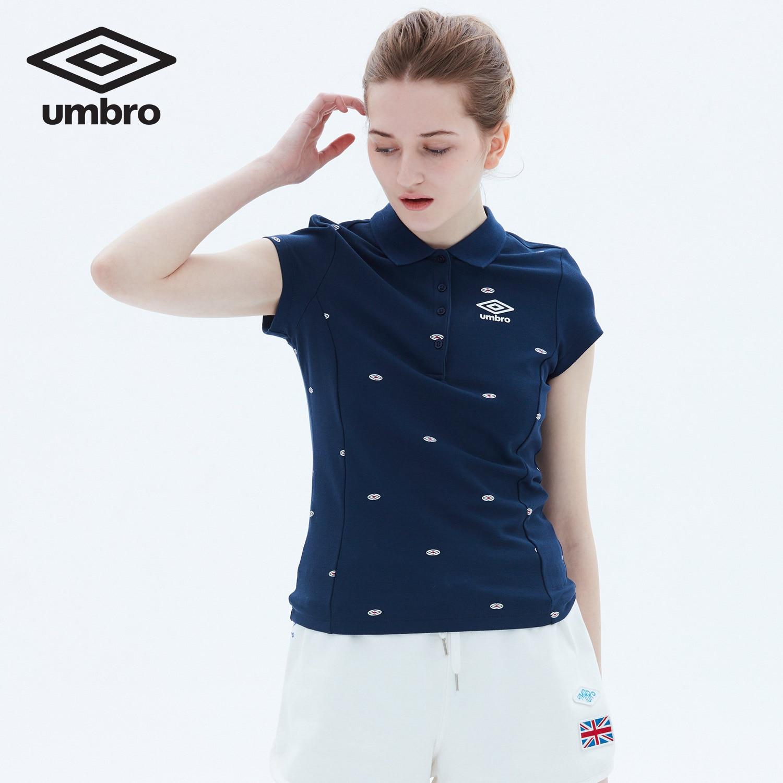 Umbro Women New Summer Short Sleeve Polo Shirt Sports T-shirt Sportswear Tracksuit T-shirt Tee Tops UCC63102
