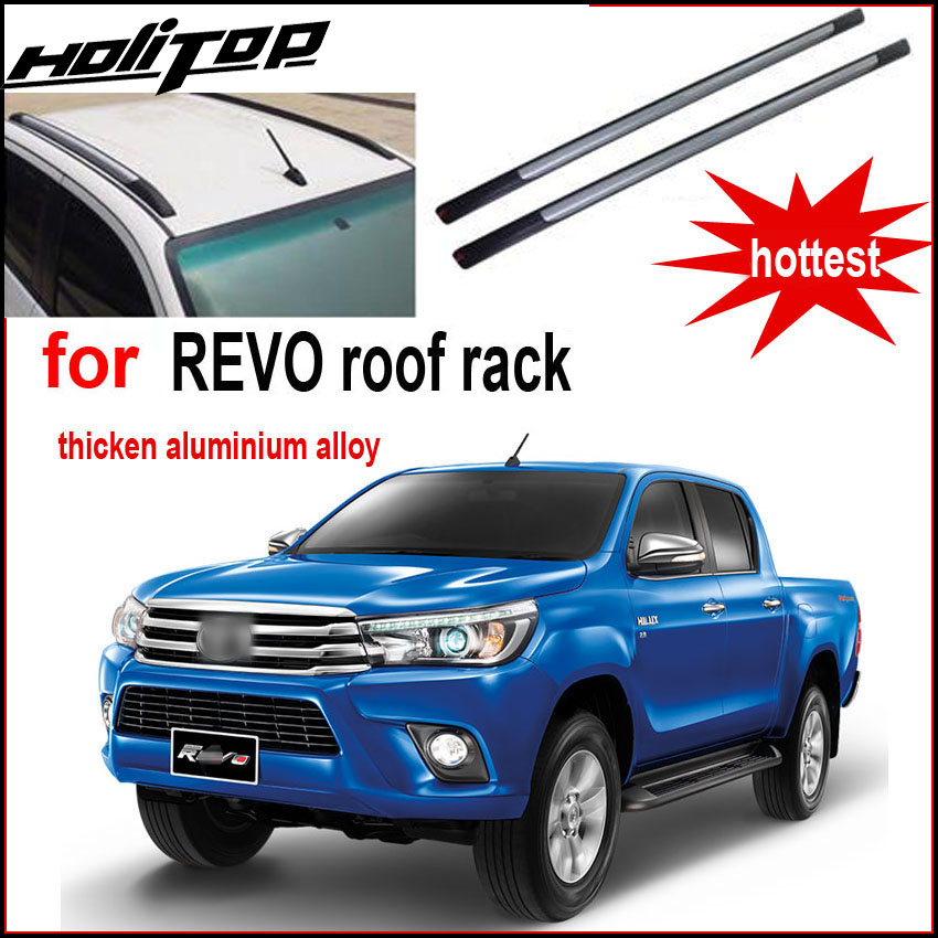hot roof rack roof bar rail luggage bar for Toyota Hilux REVO,thicken aluminum alloy,5years' SUV safe supplier, welcome to buy-in Armrests from Automobiles & Motorcycles    1