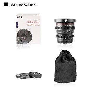 Image 5 - Meike MK 16mm T2.2 Manual Focus Aspherical Portrait Cine Lens for Micro Four Thirds (MFT, M4/3) Mount Olympus Panasonic