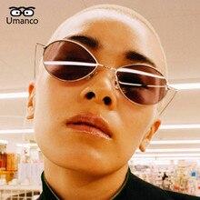 Umanco 2019 New Design Punk Water Drop Shape Colorful Sunglasses