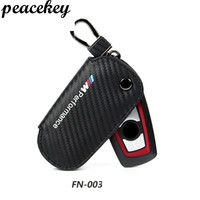 Peacekey Genuine Leather Car Key Case Cover For Bmw Key Cover F30 F10 F20 New 1