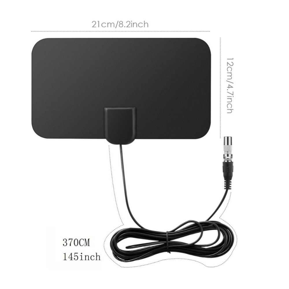 50 Miles 1080 P Крытый цифровой ТВ антенна Приемник сигнала Усилитель ТВ радиус прибой лиса антенны HD ТВ антенны воздушные мини DVB-T2