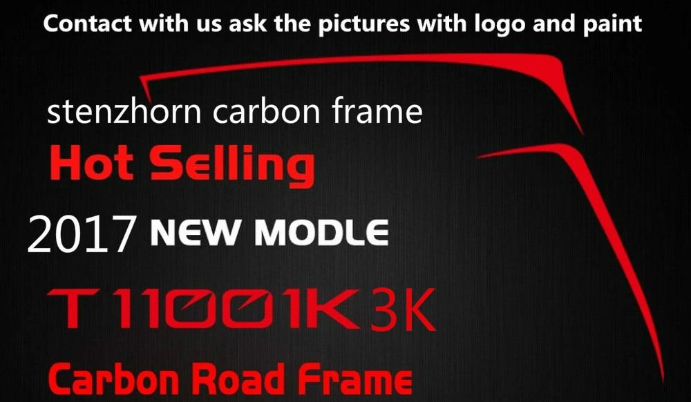 Цена за 2017 новая модель Toray T1100 stenzhorn горячей углерода велосипед фреймов: Рама + + Подседельный Вилка Зажим + Гарнитура многие цвет может быть выбран