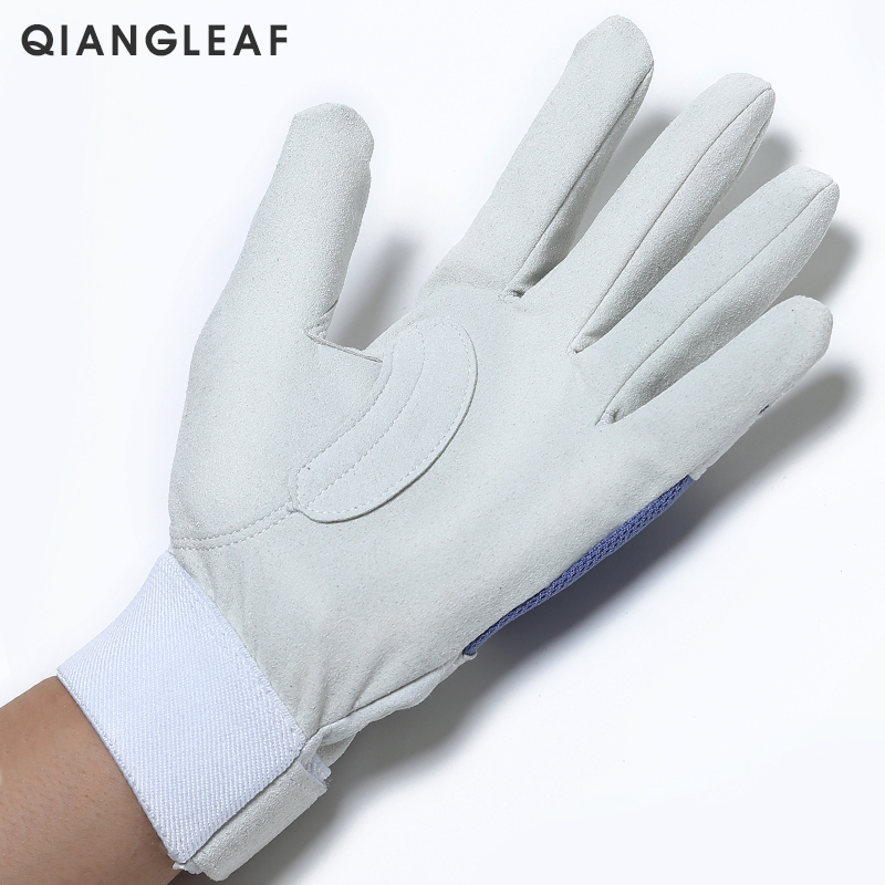 Image 2 - QIANGLEAF Work gloves gardening glove new design microfiber security gloves hot sale sport gloves 6470-in Safety Gloves from Security & Protection