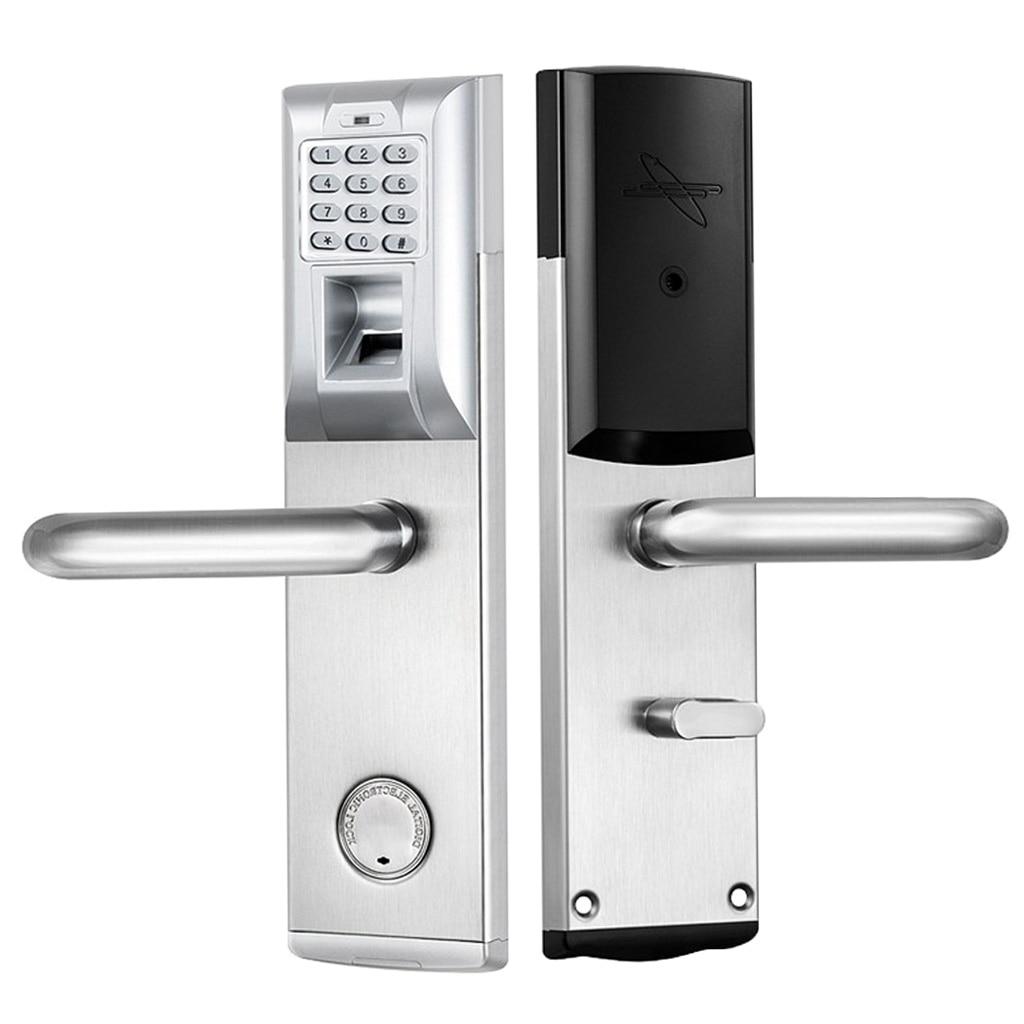 Advanced Fast Identification Electronic Door Lock Smart Biometric Fingerprint Lock Keyless Pass Code Doorlock
