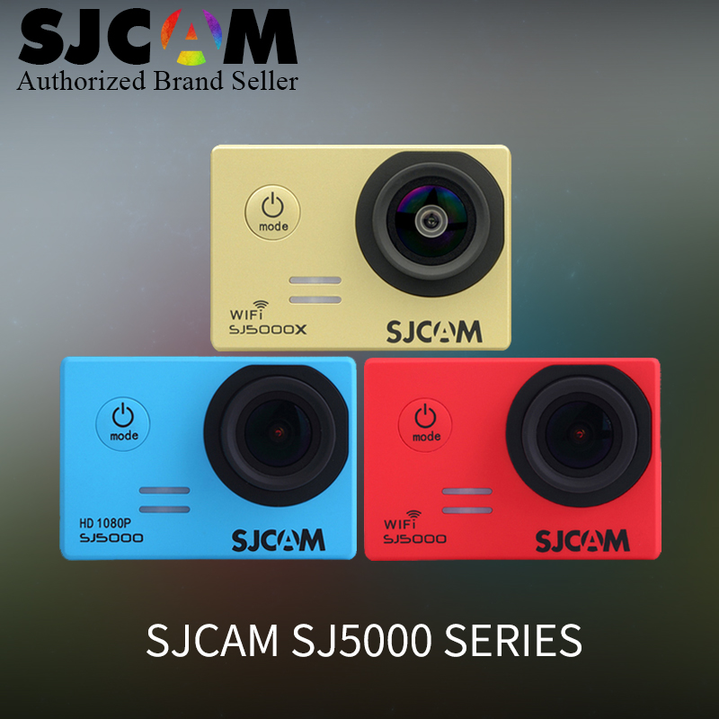 SJCAM Series SJ5000&SJ5000 WiFi&SJ5000X Elite WiFi 4K 24fps 2K30fps Gyro Sports DV 2.0 LCD NTK96660 Waterproof action camera cam 2 0 4k sjcam sj5000 series sj5000x elite wifi ntk96660 mini gyro 30 waterproof sports action camera sj cam dvr many accessories
