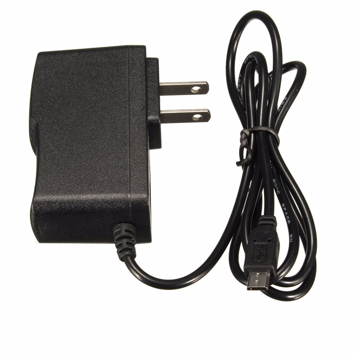 Newest 5V DC 2A design Micro USB Charger Adapter Cable Power Supply for Raspberry Pi B+ B USA Plug