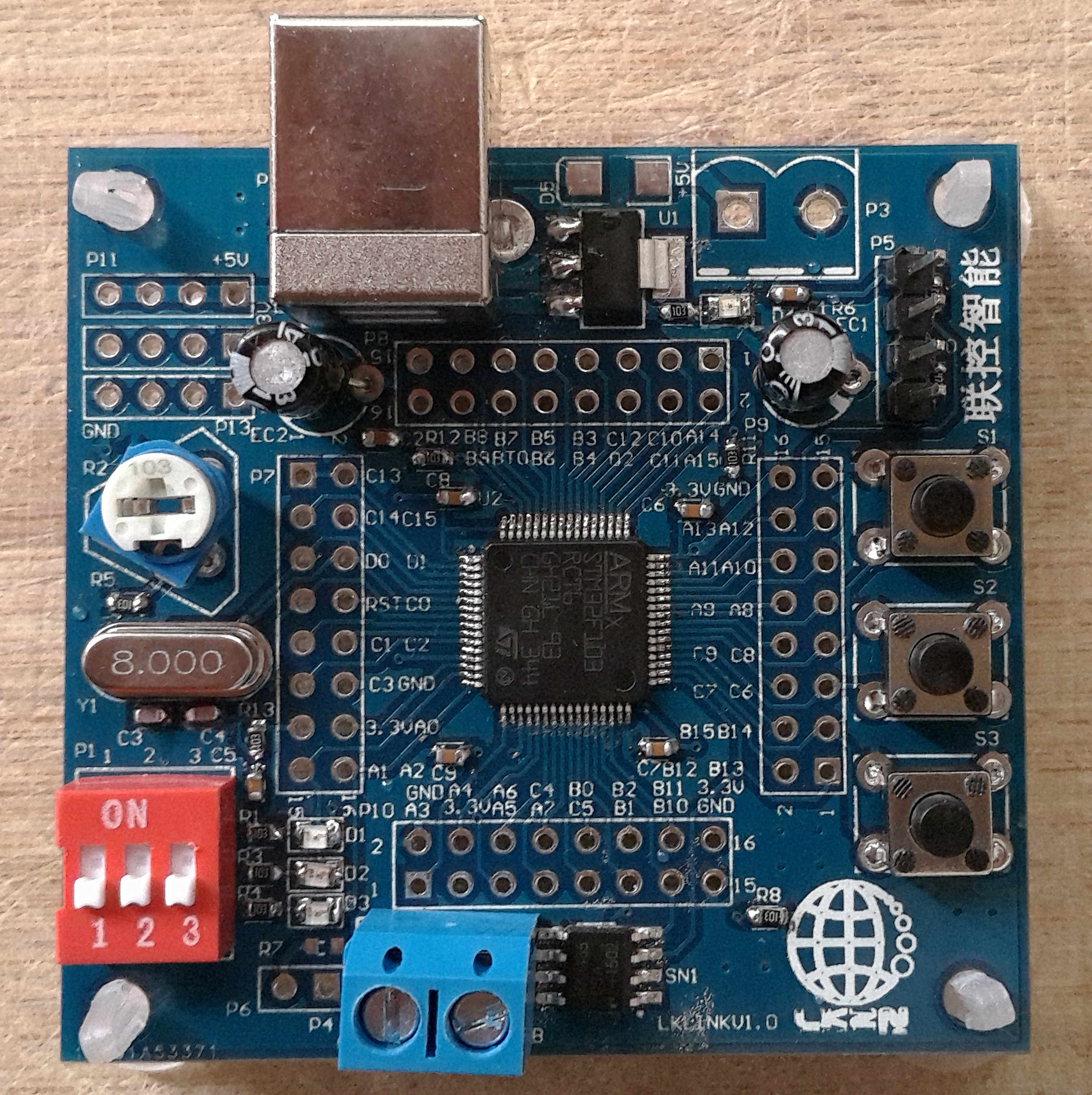 MODBUS RTU STM32 development board to learn board to graduate design MCU  development PLC source code