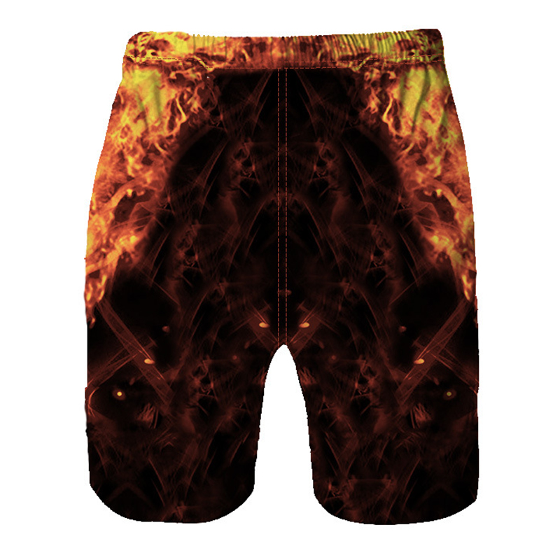 50d80dba84 Push Up Board Shorts Men Skull Flame USA Flag Print Casual Fitness Beach  Shorts Male Swimshorts Men Homme Ete 2019 Beach Shorts-in Board Shorts from  Men's ...