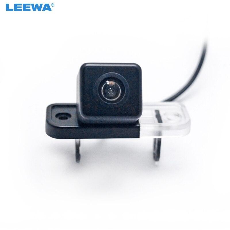 LEEWA HD Vue Arrière de Voiture Caméra Pour Mercedes Benz C W203 E W211 CLS Classe 300 W219 W209 De Sauvegarde Inverse Aider # CA5070