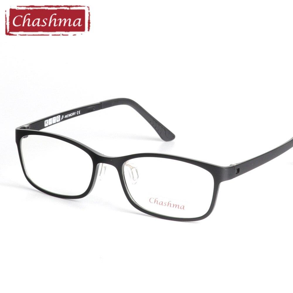 Chashma Top Qualität Ultem Glasrahmen Modedesign Schwarz Rot Optische Gläser Rahmen für Frauen und Männer Licht Brillen