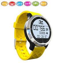 Sport Schwimmen Wasserdichte F69 smartwatch Smart Watch IP68 Fitness Tracker Armband Pulsmesser Schwimmen Armband für IOS