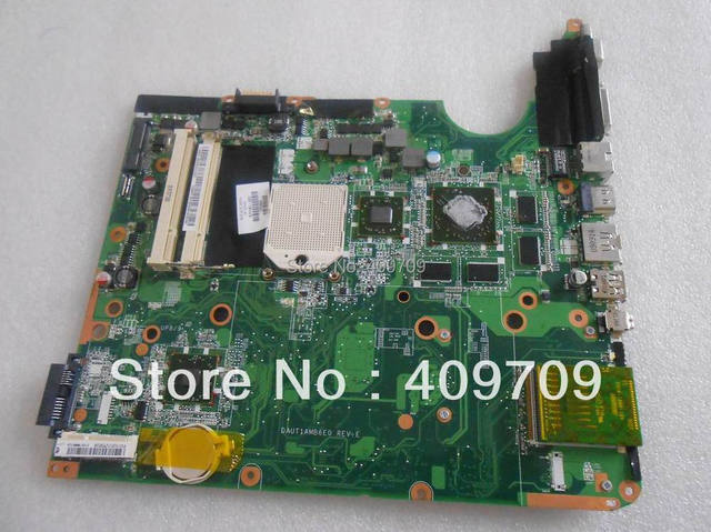 HOT100% original DV6 571187-001 laptop motherboard for HP,AMD PM perfect item,low price, fully testing