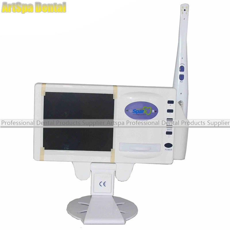 Dentist Multi-functional Dental Intraoral Intra Oral Camera With X-ray Film Reader And 5 Inch LCD And SD Card dental multifunctional x ray film reader dental x ray film reader cf 169