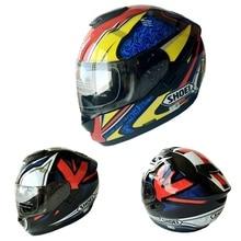(1pc&2colors) New Arrival Brand Shoei Motorcycle Helmet GT-Air Double Lens Capacete Casco Racing Motor Casque Full Face Helmets