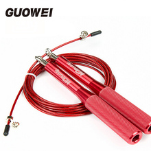Metal bearing rope skipping Crossfit Gym single Jump Rope for MMA Boxing weight lifting corda speed