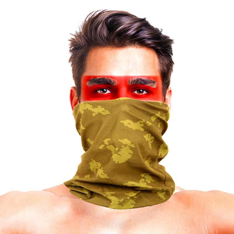 3D листья носовые платки с принтами Для женщин шарф полиэстер микрофибра шеи маска для лица бандана Для мужчин повязка-труба платок - Цвет: 031