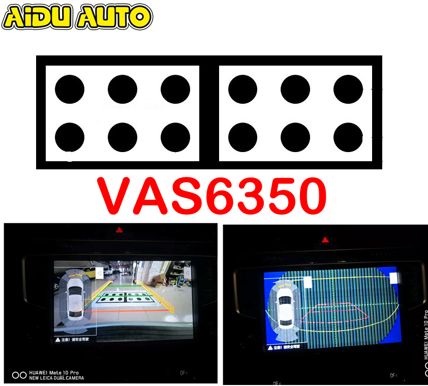 AIDUAUTO For Audi VW Skoda Seat Original Rear Viewer Camera Calibration Tool VAS6350