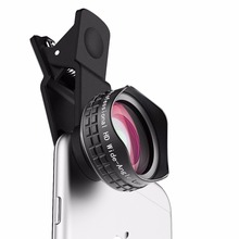 AUKEY Optic Pro Lens Cell Phone Camera Lens Kit with Phone Case for iPhone 6 plus/6s plus