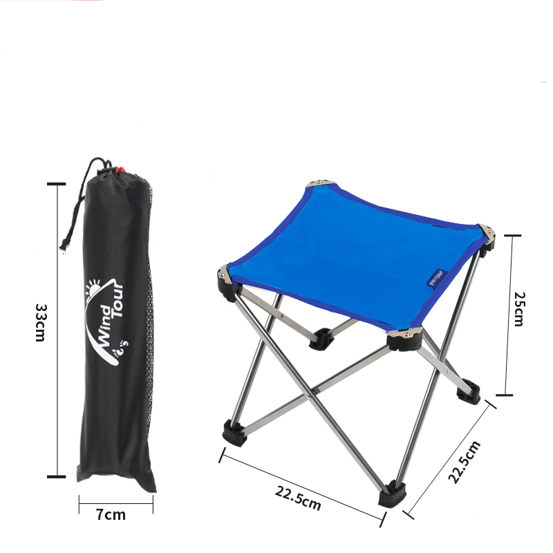 Outdoor Furniture Camping Aluminum alloy Folding Chair Fishing Picnic Garden Oxford cloth Chair Seat Outdoor Stool aluminum alloy portable outdoor tables garden folding desk with waterproof oxford cloth