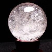 PROFESSIONAL SALE natural rainbow quartz crystal ball healing 100MM natural Quartz stone Ball + base
