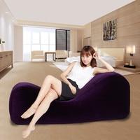 Новые надувные подушки для секса диван Председатель секс кровать секс для взрослых мебель S типа любовь диваны + надувной насос интимные изд