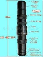 Новая машина видения линзы широко используется в большой глубиной электронных продуктов Тесты Регулируемая Диафрагма зум объектив! беспла