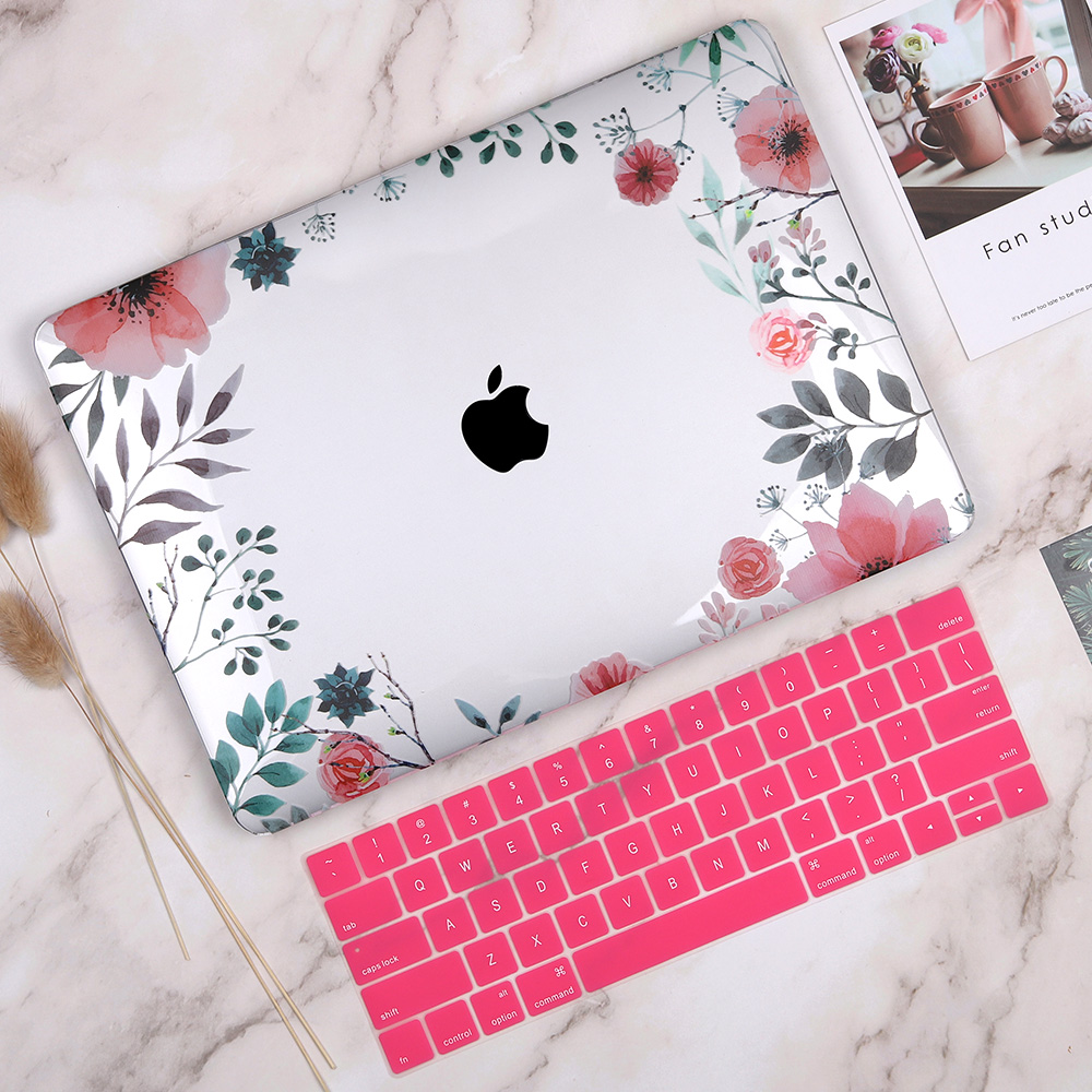 Floral Case for MacBook 153