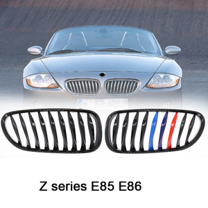 2.0i 2.2i 2.5i 2.5si 3.0i 3.0si high quality e86 black grill for BMW 2003 - 2019 Z series Z4 E85 front bumper car styling grille