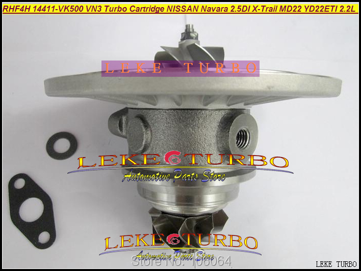 Turbo Cartridge Chra Core RHF4H 14411-VK500 VN3 VA420058 VB420058 For Nissan Navara MD22 2.5L 2002- X-Trail 2001-03 YD22ETI 2.2L сегмент дуги алюминиевый alexika alexika 1 шт 1 1 x 53 см