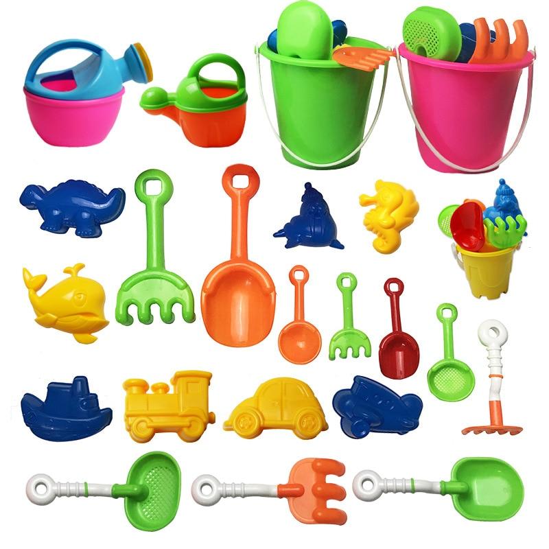 Beach Bucket Set Beach Shovel Play Sand Play Water Educational Toys Animal Sand Pool Toys