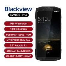 BLACKVIEW BV9000 PRO Android 7.1 18:9 IP68 Waterproof Smartphone 5.7″ bezel-less MTK6757CD Octa Core 6G+128G 4180mAh