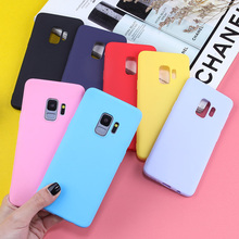 Candy Color TPU Phone Case For Samsung Galaxy S10 S8 S9 S7 S7 Edge S8 Plus S9 Plus S10 Plus S10 Lite Luxury Silicone Phone Cover все цены