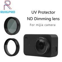 UV filtr nd neutralna gęstość Filtors osłona obiektywu osłona Protector dla mi jia Xiao mi mi ni mi Jia 4K akcesoria do kamery sportowej