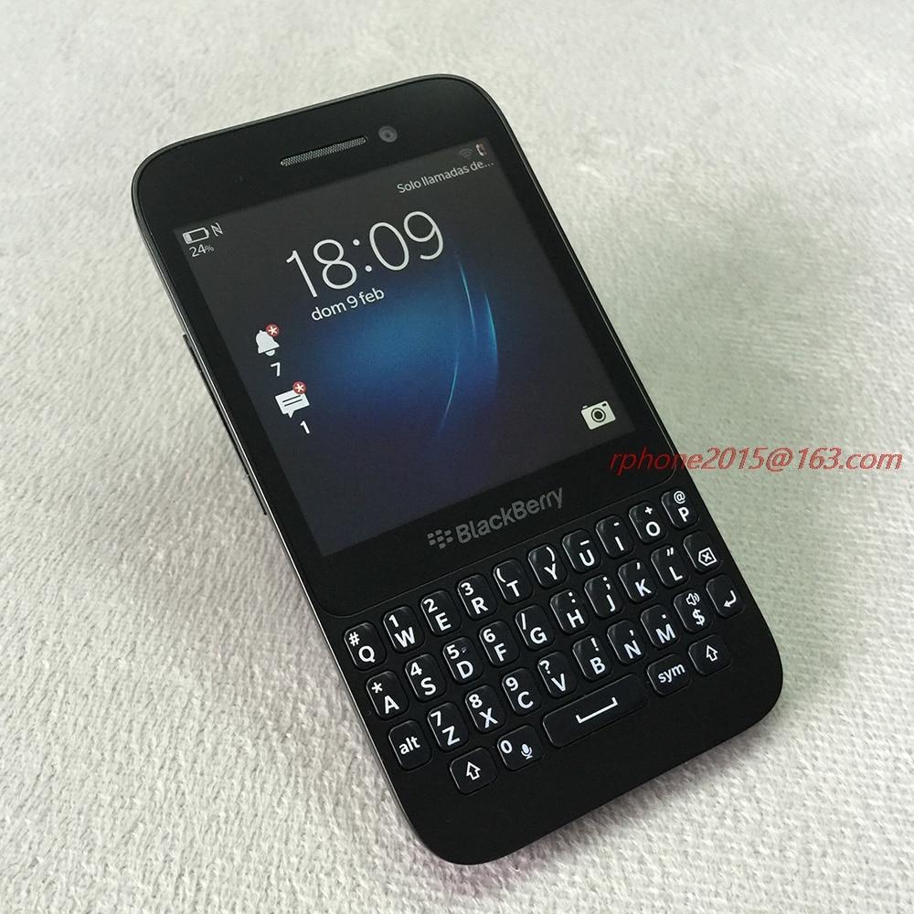 Original Refurbished Blackberry Q5 Mobile phone Unlocked 2GB RAM GSM Dual Core 3 1 5MP WIFI