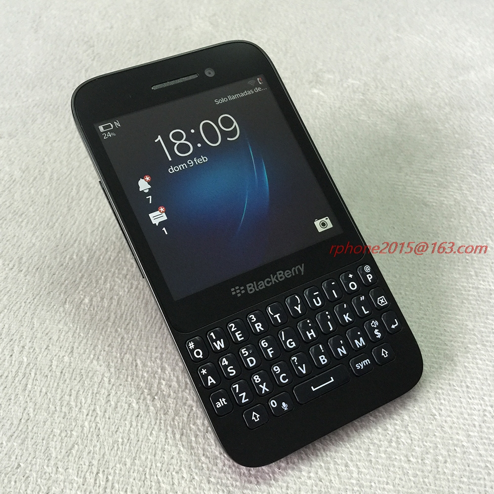 """Original Refurbished Blackberry Q5 Mobile phone Unlocked 2GB RAM GSM Dual Core 3.1"""" 5MP WIFI GPS ROM 8GB QWERTY Keyboard-in Cellphones from Cellphones & Telecommunications    1"""