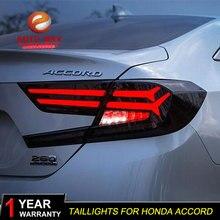 Автомобильный Стайлинг задний фонарь для Honda Accord 2018 задние фонари светодиодная сигнальная лампа чехол для Honda Accord задний фонарь светодиодный задние фонари