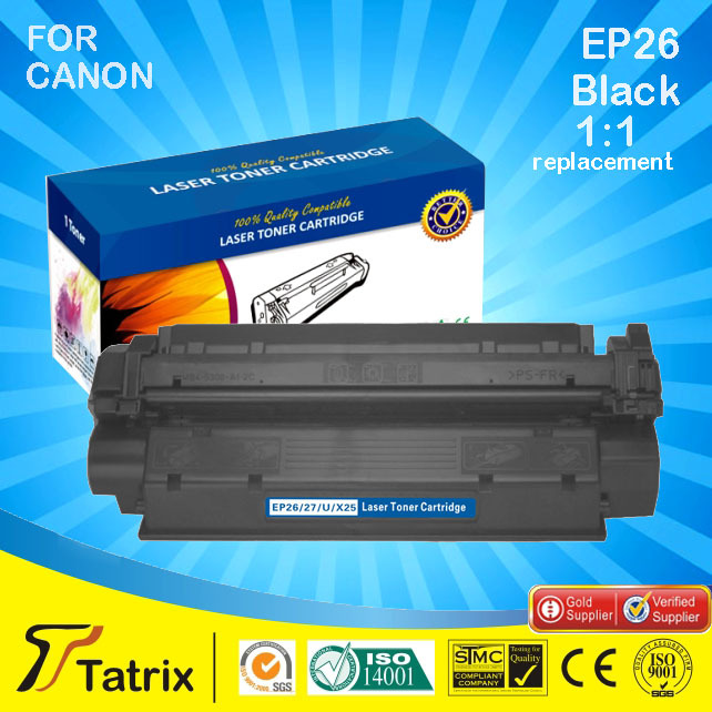 ФОТО EP26 / EP27 / CRG U/ X25 toner cartridge compatible for Canon LBP-3200, imageCLASS MF5530/MF5550/MF5630 printer , free shipping