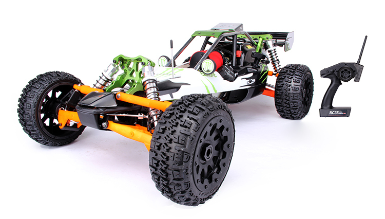 Freeshopping 1:5 RC Car Rovan Baja 5b 305A 30.5cc Engine Warbro 668+NGK 2017 new rovan 1 5 scale gasoline rc car baja 5b high strength nylon frame 29cc engine warbro668 symmetrical steering