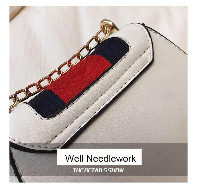 Imitation Designer Bags Fashion Bee Shoulder handbag for women Luxury Round PU Cross body Chain Bag Pearl Metal Lock Women's Bag (10)