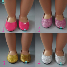MIMI toys Shoes for dolls fits 45cm American Girl for child s Christmas present