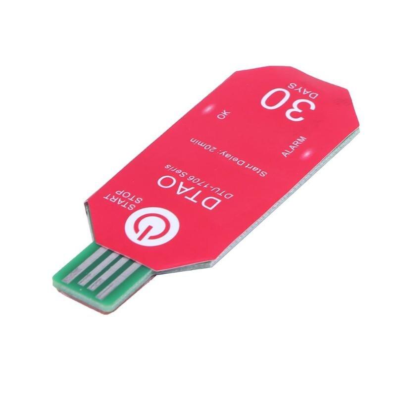 DTU1706 Waterproof PDF Disposable USB 2.0 Temperature Data L
