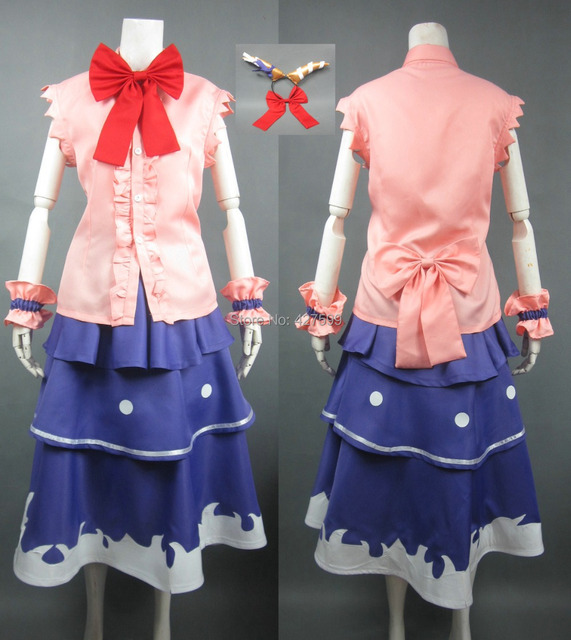 touhou project suika ibuki cosplay costume halloween costumes with