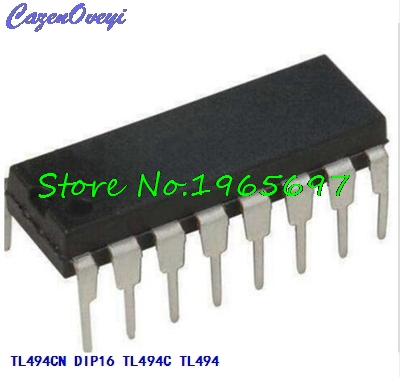 10pcs/lot TL494CN TL494C DIP16 TL494 = AZ494AP KIA494P New And Original IC In Stock