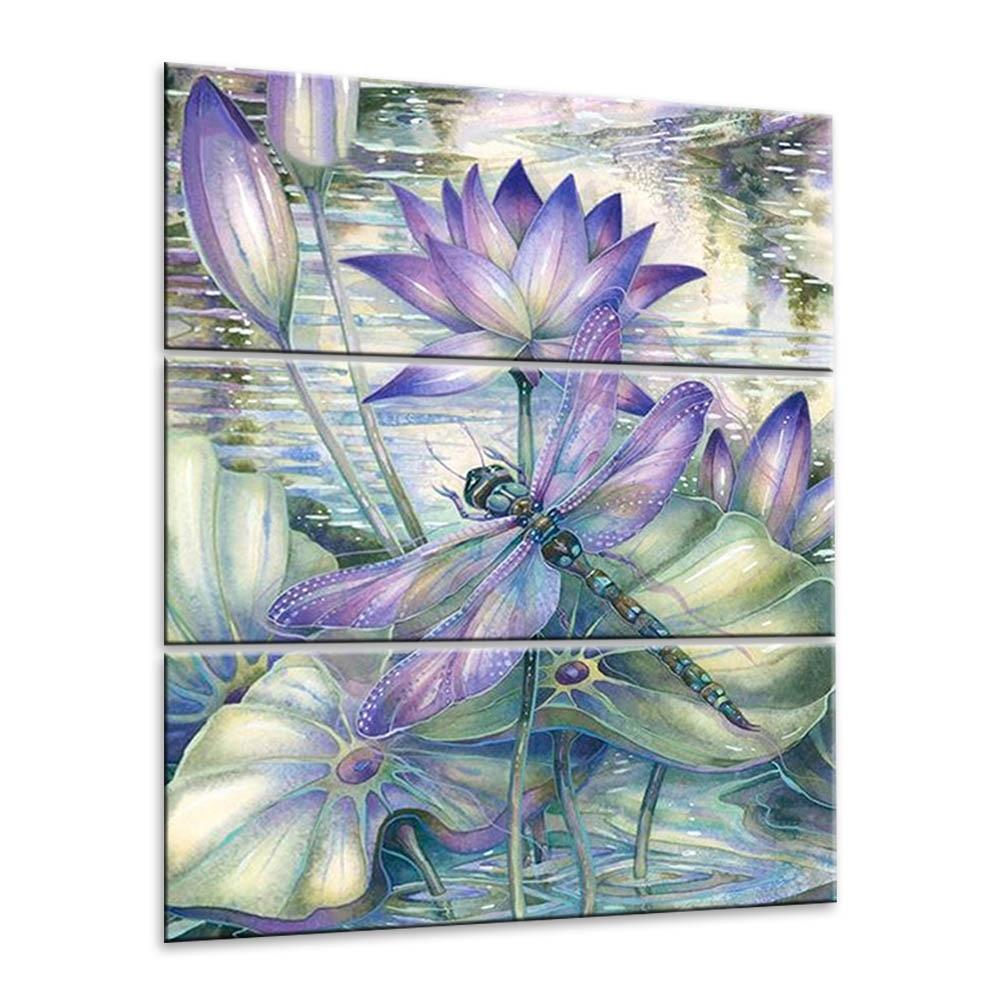 Aliexpress Buy 3pcs Retro Watercolor Lotus Flower Diy