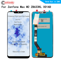 6.26 LCD Display For Asus Zenfone Max (M2) ZB633KL X01AD LCD display Touch panel Screen sensor monitor Digitizer assembly