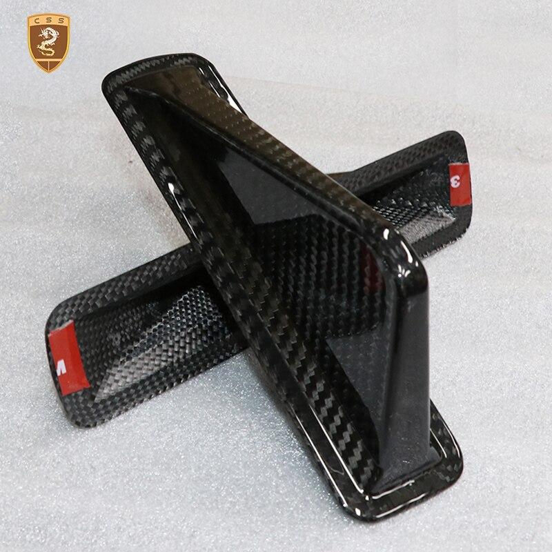 Углеродное волокно, украшение для крыши автомобиля, акулий плавник, антенна, внешняя отделка, наклейка для автомобиля, антенна для Alfa Romeo Giulia... - 2