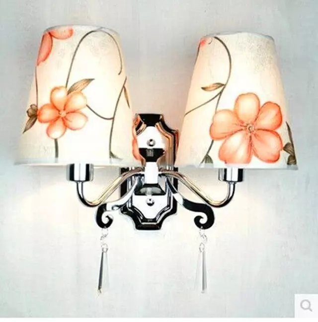 Cloth wall lamp, apply to hotels, guesthouses, engineering home bedroom, living room, hallway and other places