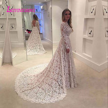 LEIYINXIANG 2019 Wedding Dress Sexy A-line Backless Full